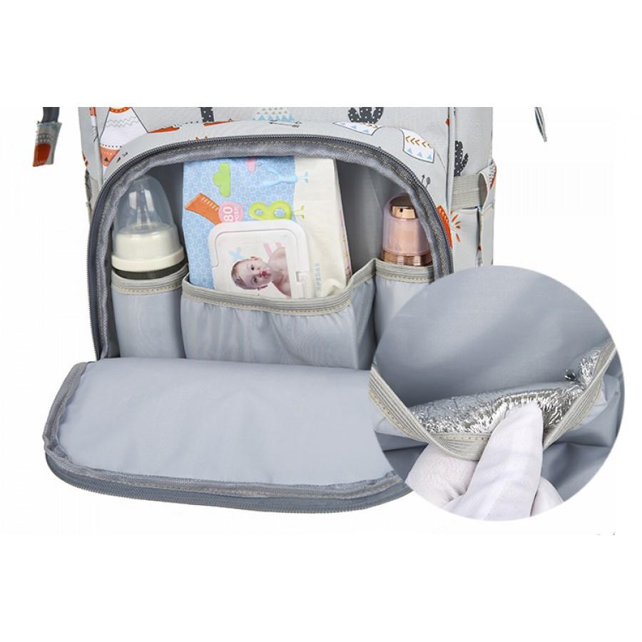 Τσάντα πλάτης μωρού L.T.S ινδιάνοι