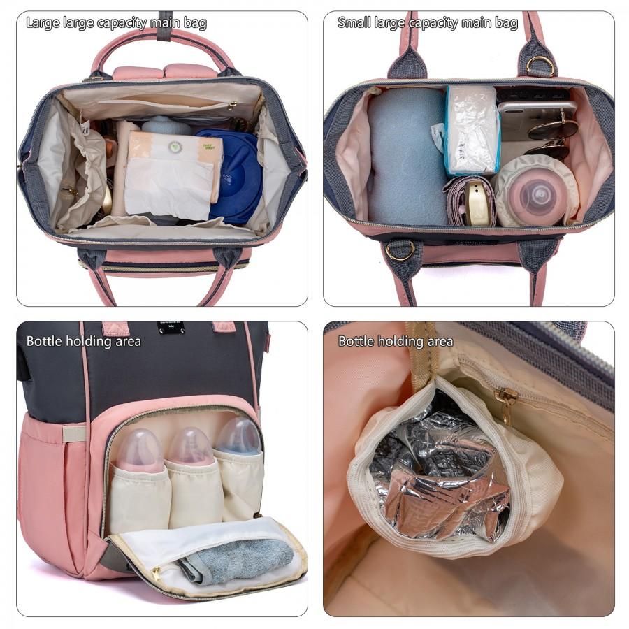 Σετ τσάντα μωρού LEQUEEN μονόκερος